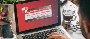Antivirus software on computer