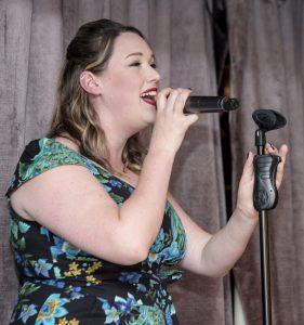 Singer Jo Farrow