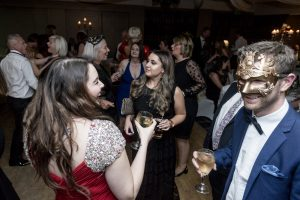 Guests enjoying the ball