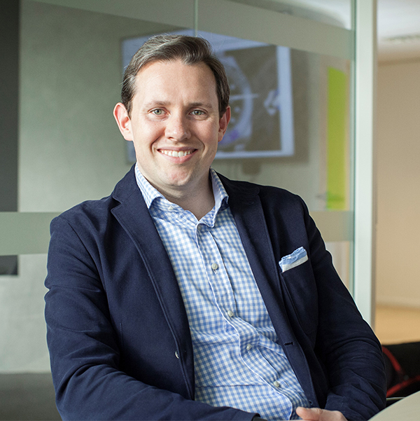 Colin Saunders, CEO OfV