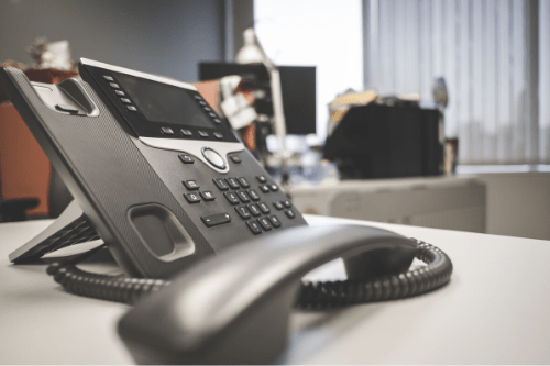 Image of a office phone